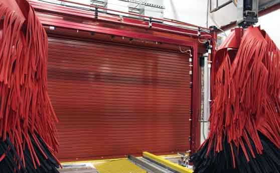 Ordinaire Insulated Overhead Door For Car Wash Metro Garage Doors, Inc.