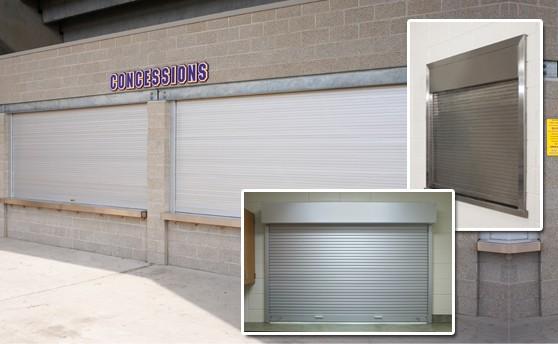 Counter shutter for concessions stand-Metro Garage Doors Inc. & Rolling Steel Service Doors - Metro Garage Doors pezcame.com