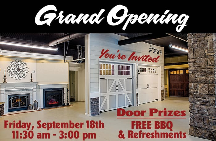 metro garage door open house