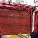 Insulated overhead door for car wash-Metro Garage Doors, Inc.