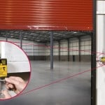 Fire rated door that can be drop tested-Metro Garage Doors, Inc.