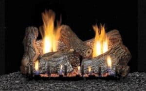 gas logs for christmas