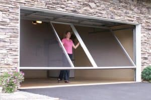 Garage Door LifeStyle Screen