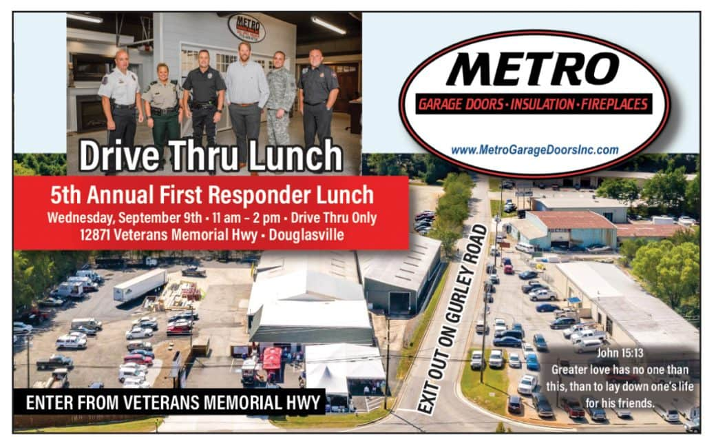 first responder luncheon